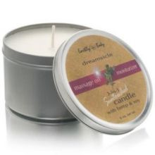 Earthly Body 3-In-1 Suntouched Candle - Massage Oil Moisturizer Dreamsicle 6 oz